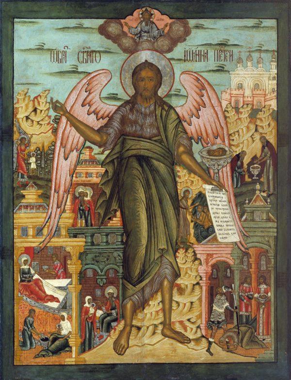 икона Креститель 2