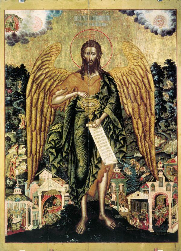 икона Креститель 4