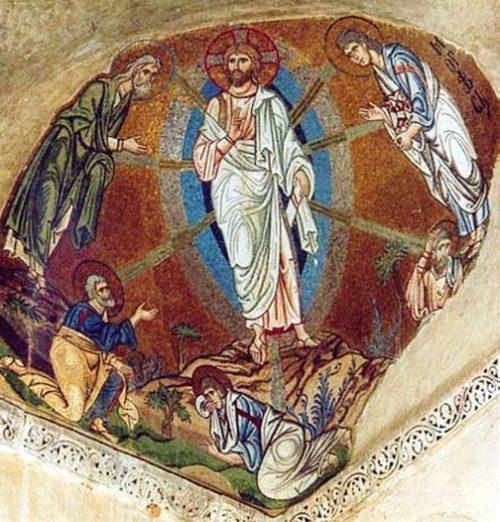 Мозаика в монастыре Дафни