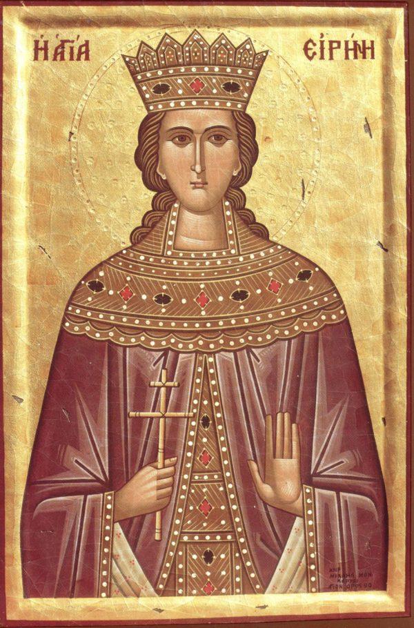 Ирина македонская икона