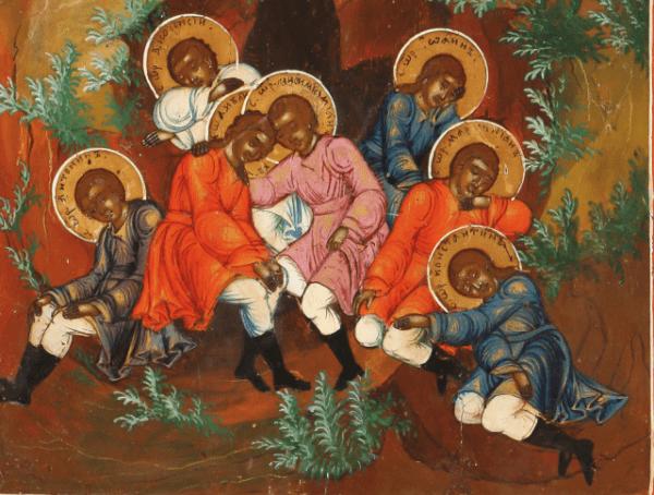 отрывок из иконы семь святых