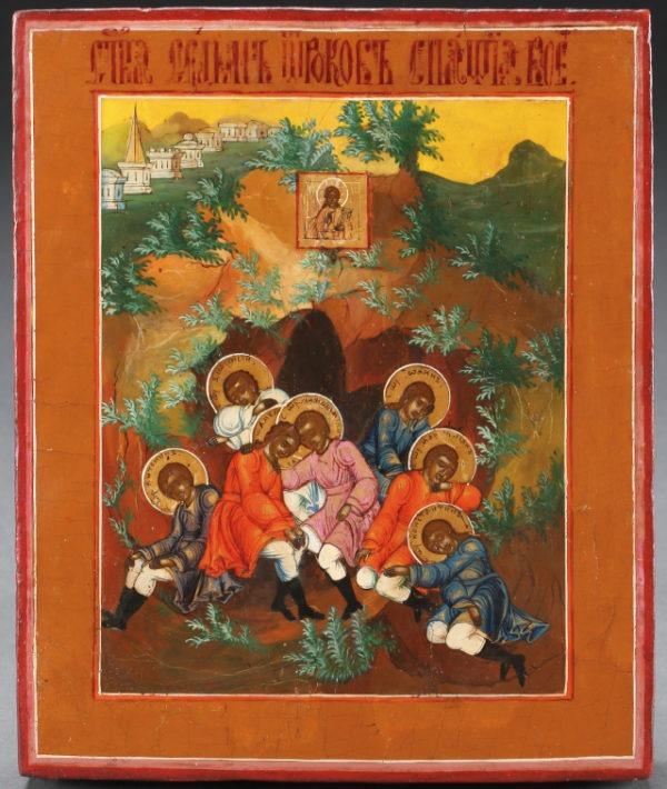 икона семь спящих святых