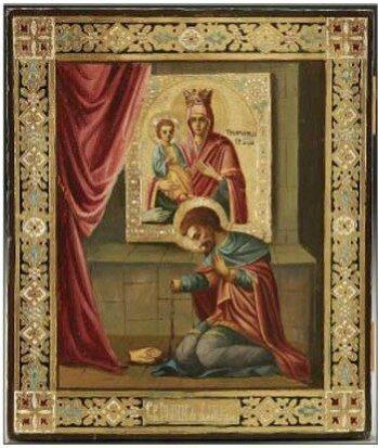 икона Девы Марии Троеручица