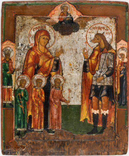 Кристофер и София икона