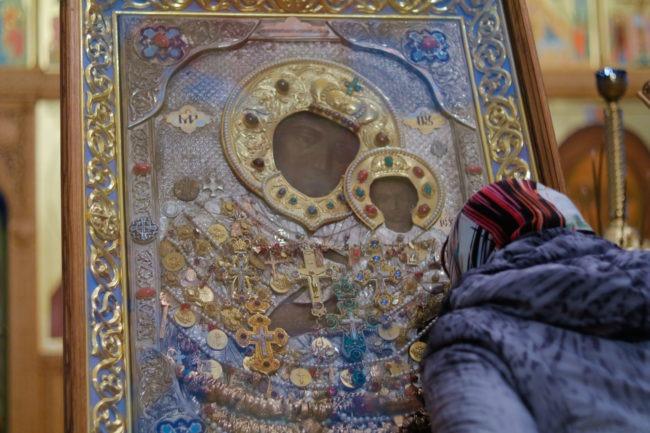 Пряжевская икона с молящимся