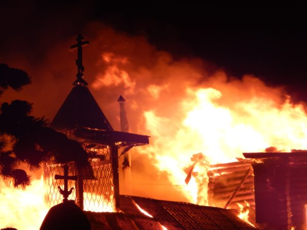 поджог собора